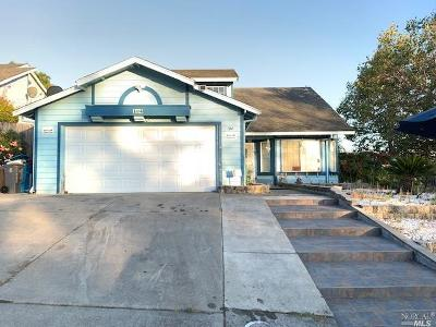 Vallejo Single Family Home For Sale: 104 Adele Drive