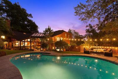 Kentfield Single Family Home For Sale: 117 Hillside Avenue