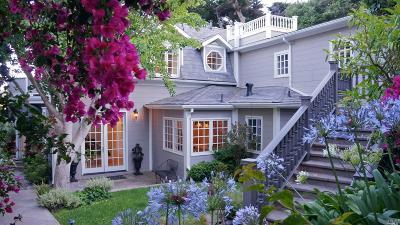 Sausalito Single Family Home For Sale: 47 Prospect Avenue