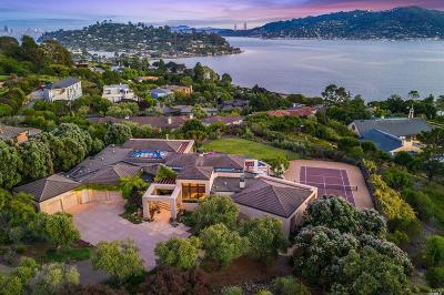 Tiburon Single Family Home For Sale: 3 Via Paraiso West