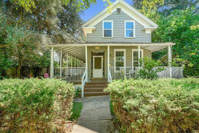 Calistoga Single Family Home For Sale: 1015 Myrtle Street