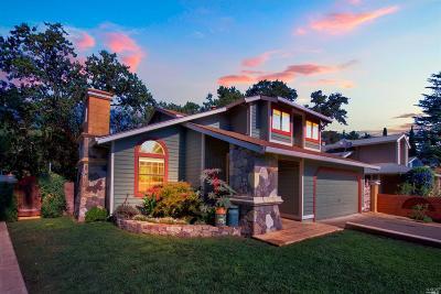 Calistoga CA Single Family Home For Sale: $770,000