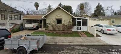 Napa Single Family Home For Sale: 723 Montgomery Street