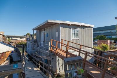 Sausalito Single Family Home For Sale: 2 Main Dock