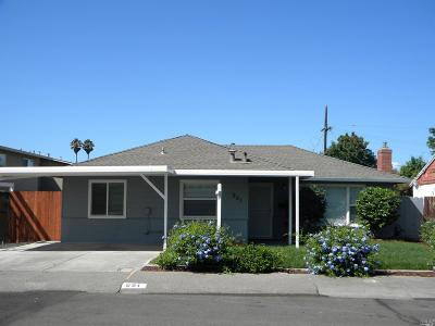Vallejo Single Family Home For Sale: 951 Heartwood Avenue