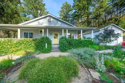 Calistoga Single Family Home For Sale: 18901 State Highway 128