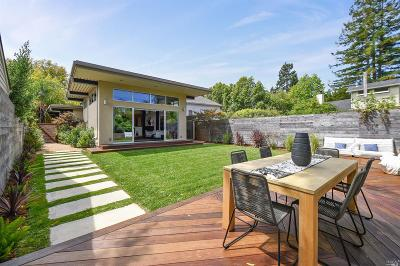 Mill Valley Single Family Home For Sale: 45 Walnut Avenue