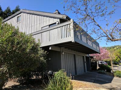 San Rafael Condo/Townhouse For Sale: 58 Blackstone Drive