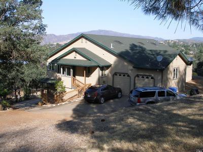 Hidden Valley Lake Single Family Home For Sale: 18798 Oak Grove Road
