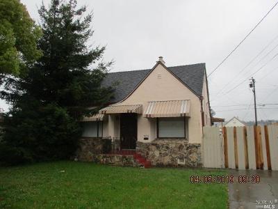 Vallejo Single Family Home For Sale: 3626 Georgia Street