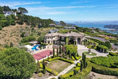 Tiburon Single Family Home For Sale: 185 Gilmartin Drive