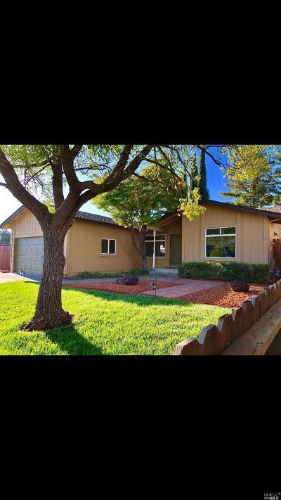 Fairfield CA Single Family Home For Sale: $444,999