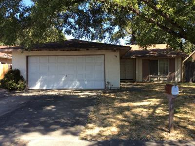 Vacaville Single Family Home For Sale: 80 Longview Drive