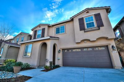 Vacaville CA Single Family Home For Sale: $550,000