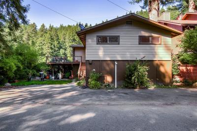 Single Family Home For Sale: 19475 Redwood Drive