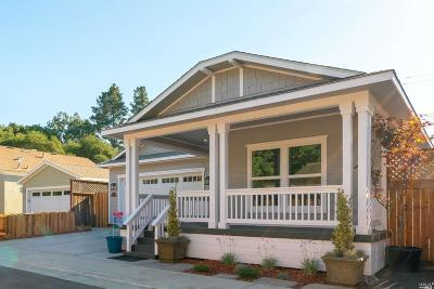 Sonoma County Single Family Home For Sale: 9 Nirvanah Place