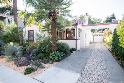 Calistoga CA Single Family Home For Sale: $829,000