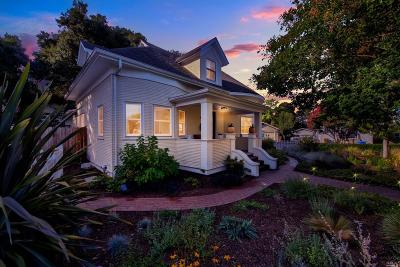 Napa Single Family Home For Sale: 131 1st Street