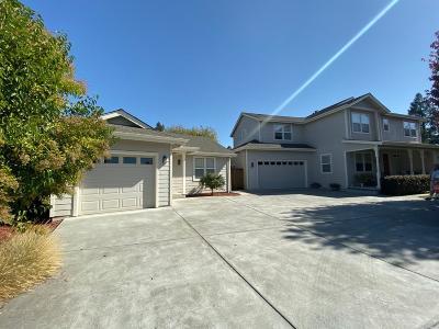 Sonoma County Single Family Home For Sale: 1842 Streiff Lane