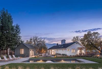 Calistoga Single Family Home For Sale: 40 Rosedale Road