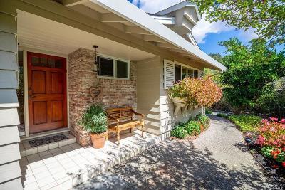 Napa Single Family Home For Sale: 222 Monte Vista Avenue