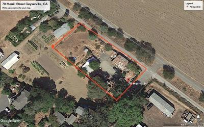 Geyserville CA Commercial For Sale: $475,000