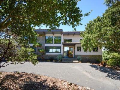 Napa Single Family Home For Sale: 2670 Atlas Peak Road
