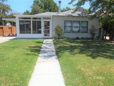 Single Family Home For Sale: 140 S Mt Whitney