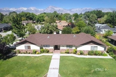 Bishop Single Family Home For Sale: 401 Ranch Rd