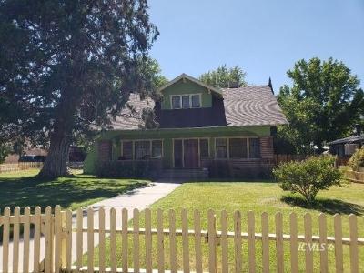 Big Pine Single Family Home For Sale: 161 S School Street