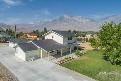 Big Pine, Bishop Single Family Home For Sale: 434 Arboles Dr