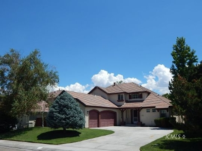 Bishop Single Family Home For Sale: 1716 Shoshone