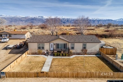 Big Pine, Bishop Single Family Home For Sale: 1628 S Valley View