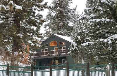 Mammoth Lakes Single Family Home For Sale: 598 Lakeview Blvd