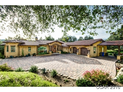 Angels Camp CA Single Family Home For Sale: $1,295,000