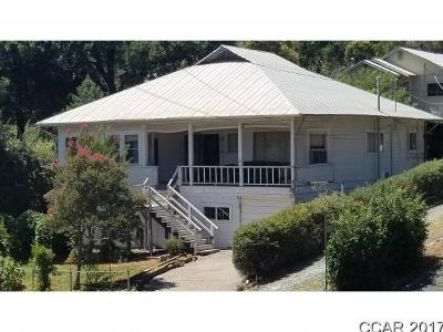 Angels Camp Single Family Home For Sale: 1194 Bush Street