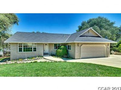 Angels Camp Single Family Home For Sale: 133 Rocky Ridge Rd