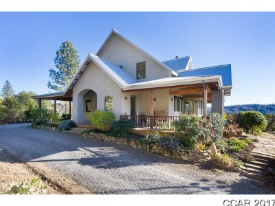 Angels Camp, Arnold, Avery, Bear Valley, Camp Connell, Copperopolis, Dorrington, Douglas Flat, Hathaway Pines, Mokelumne Hill, Mountain Ranch, Murphys, Paloma, Railroad Flat, San Andreas, Sheep Ranch, Vallecito, Valley Springs Single Family Home For Sale: 1257 Hanging Tree Rd