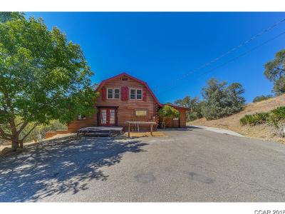 Valley Springs Single Family Home For Sale: 8906 Montero Rd