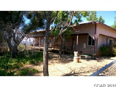 Mountain Ranch CA Single Family Home For Sale: $210,000