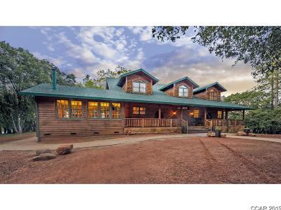 Glencoe Single Family Home For Sale: 2504 Upper Dorray Road