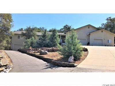 Mokelumne Hill Single Family Home For Sale: 5217 Lombardi #7