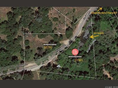 Angels Camp Residential Lots & Land For Sale: Finnegan Ln #Lot 3