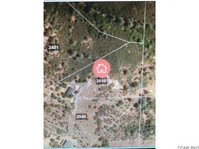 Murphys Residential Lots & Land For Sale: 2519 Butte Mountain Rd #80