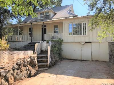 Angels Camp Single Family Home For Sale: 1820 S. Main St. #3