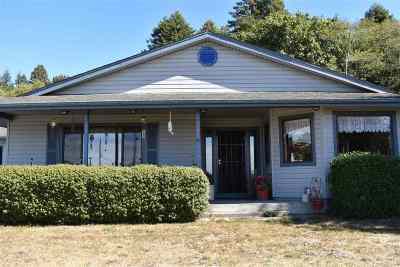Smith River Single Family Home For Sale: 9355 N Us Highway 101