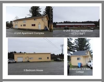 Crescent City Multi Family Home For Sale: 645 Elk Valley Road