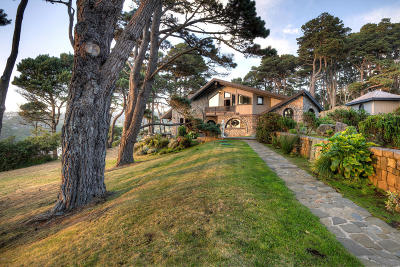 Mendocino CA Single Family Home For Sale: $4,000,000