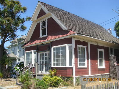 Fort Bragg Single Family Home For Sale: 650 N Main Street