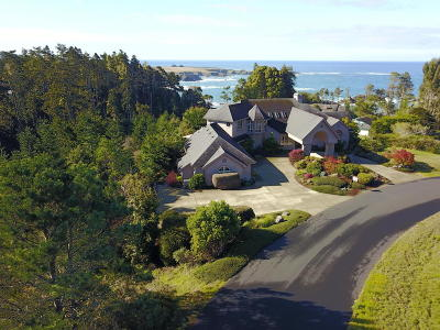 Mendocino CA Single Family Home For Sale: $1,395,000